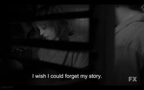 Je souhaite de pouvoir oublier mon histoire..