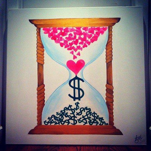 Le temps c'est pas de l'argent, cette connerie nous affaiblit. Ton temps c'est ta durée de vie et Dieu nous a fait libre.