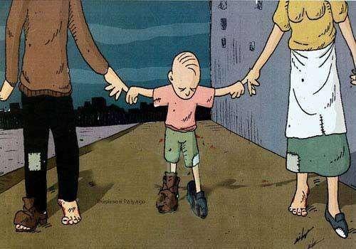 El niño es lo primero, l'enfant est ce qui passe en premier.
