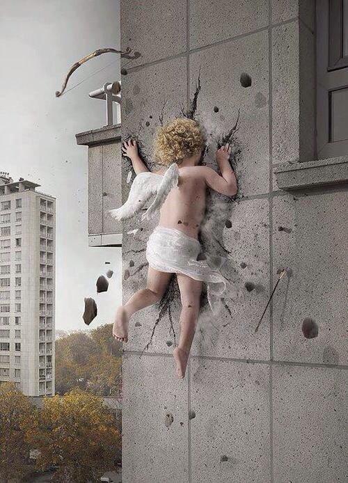 Cupid Stupid. Petit con de Cupidon