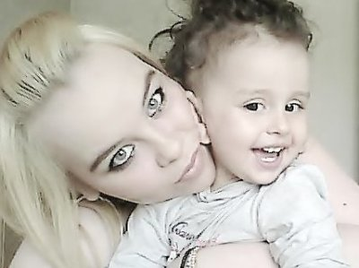 Ma Cathou et sa fille sara
