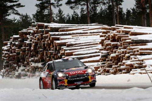 Rallye WRC de Suède - Jour 1