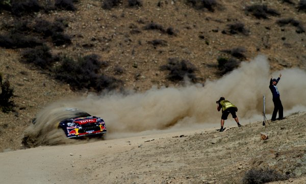 Rallye WRC du Mexique - Jour 1
