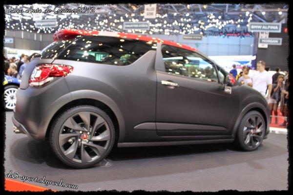 Salon Auto de Genève 2012 - Gamme DS