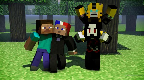 Salut les Minecraftiens et les blogueurs !