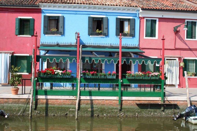 Burano - Ses couleurs et ses dentelles