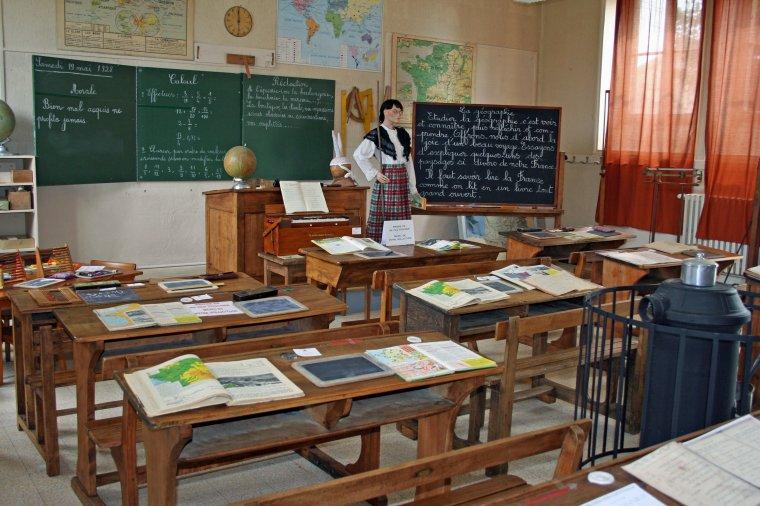L'école autrefois
