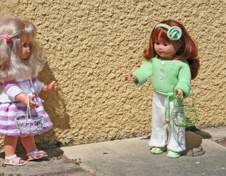 """Emilie en """"Rose Mélodie"""""""