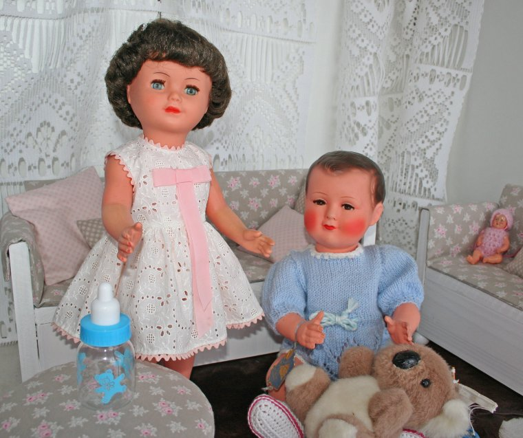 Marie-Françoise et son frère
