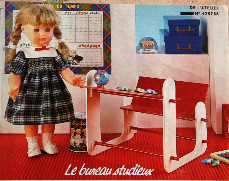 Le joli bureau d'Emilie