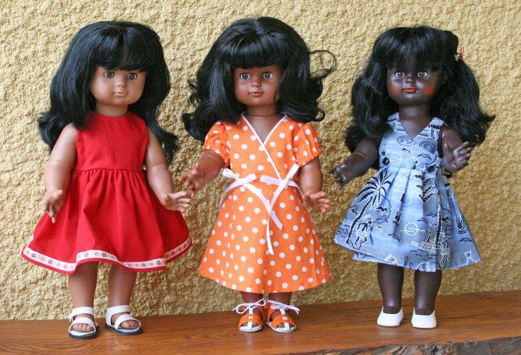 En écho à Doudourose47 .... Mes trois belles !