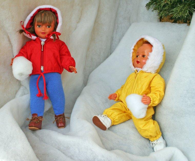 La neige, enfin ! Janvier 1961