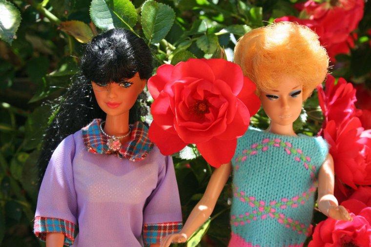 Barbie bubblecut a une soeur ...