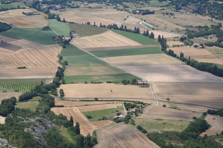 Destination Roche Colombe - forêt de Saoû - Drôme