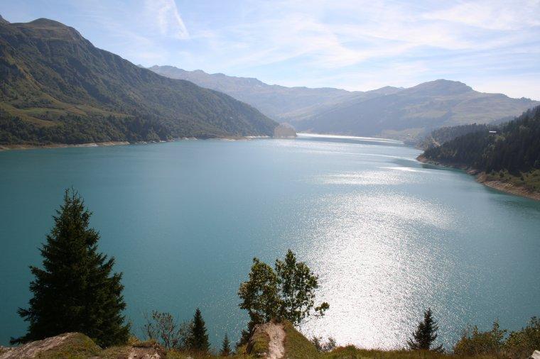 Nostalgie ... Le lac de Roselend - Beaufortain - Savoie