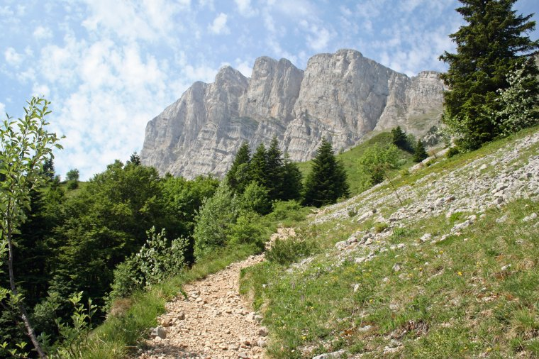 Le Grand Veymont 2341m - point culminant du massif du Vercors