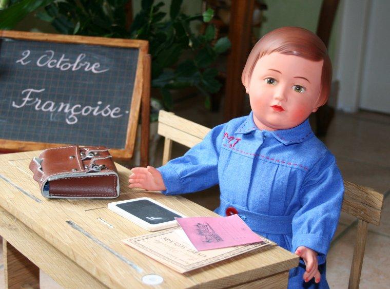 Françoise rentre de l'école