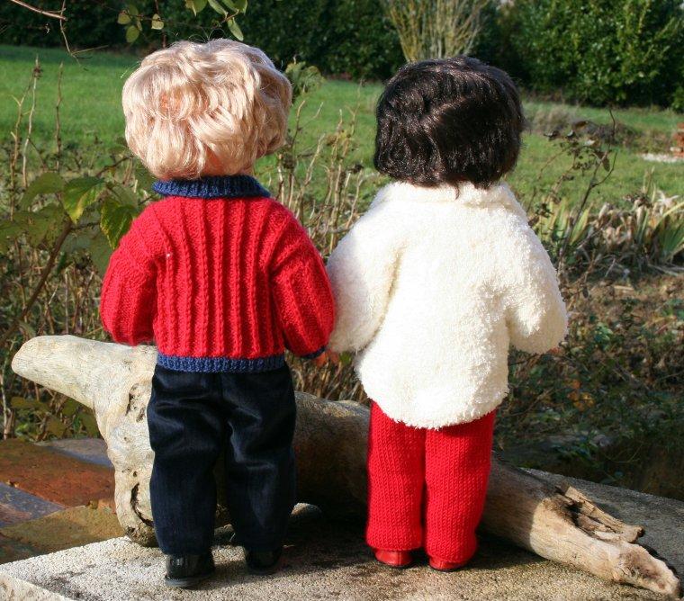 En Août on prépare les tricots de l'automne