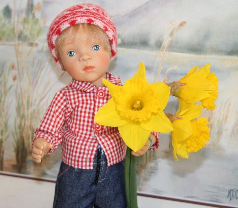 La journée de la femme ... Luc vous offre quelques fleurs