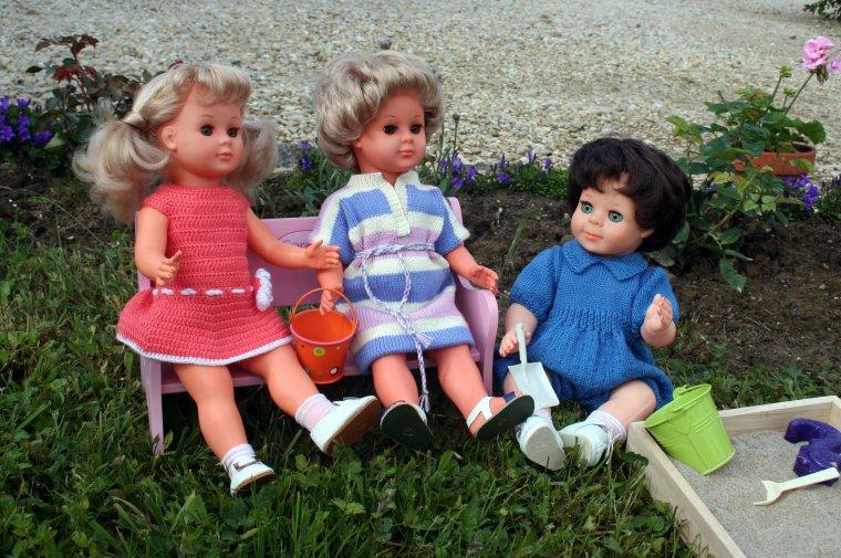 Petites robes et barboteuse de Mai