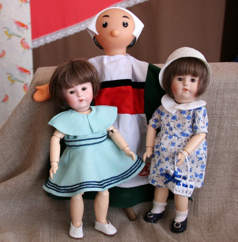 Il y avait aussi des marionnettes !