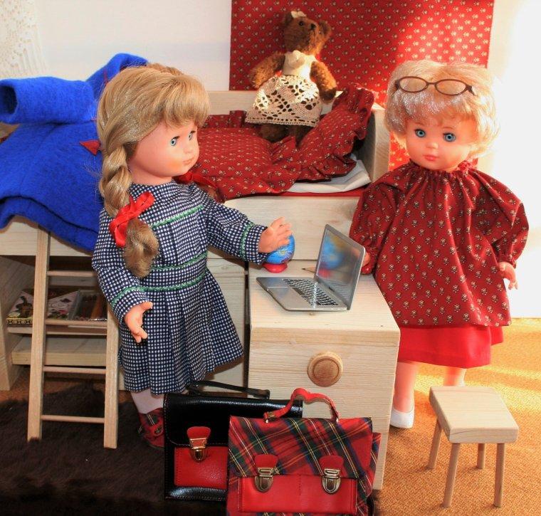 Marie-Françoise a de la visite