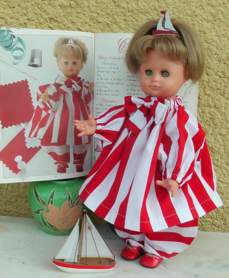 CARNAVAL, Hors saison mais qu'importe les poupées s'en moquent !