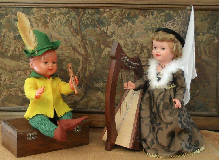 Gente Dame et Troubadour