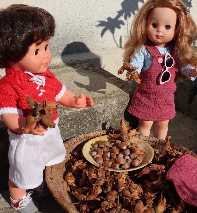 La saison des noisettes chez Mère-Grand