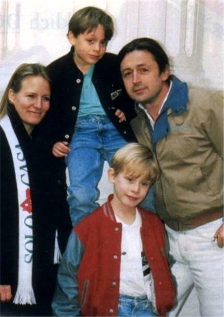 Kieran et ses frères. Rory & Macaulay Culkin