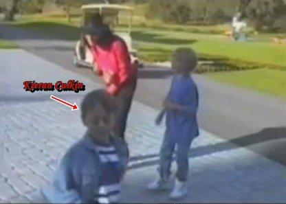 Kieran, Macaulay Culkin & Michael Jackson
