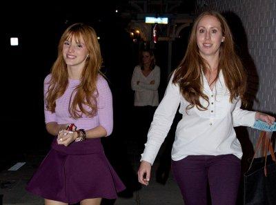 14/11/2012: Bella à l'hotel Shutters à Santa Monica.