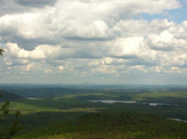 Le Mont Orford au Quebec