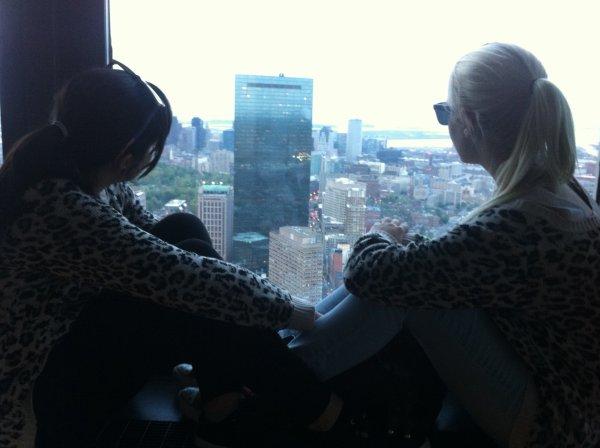 Dans le ciel de Boston <3