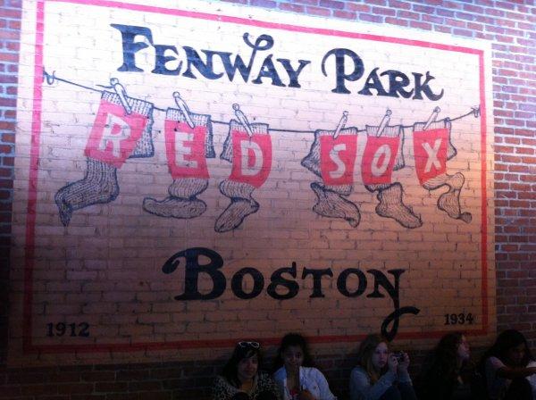 Un match des Red Sox avec les copines :)))