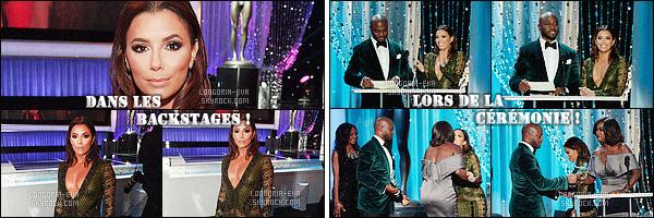 * 30/01/16 : Eva était présente lors du     22nd Annual Screen Actors Guild Awards    situé dans - Los Angeles. La tenue  d'Eva  est d'une très grande classe. Nous avons une jolie robe avec un dos nu qui permet de voir son sublime corps - un TOP    ! *
