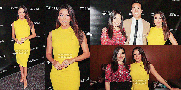 * 10/04/16 : Eva  était présente a l'événement le      Liquid sunshine!    au Deadline qui est situé dans  - Los Angeles.   Eva porte une magnifique robe jaune qui est très jolie au niveau du modele et de la couleur qui lui va parfaitement - C'est un beau TOP    ! *