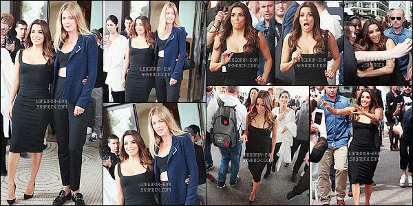 * 07/05/16 : Eva  a été aperçu prendre des photos avec notamment D. Kroes  près de l'Hotel Martinez       à    Cannes.   Eva portait une robe noire toute simple mais d'une classe affolante avec des escarpins noirs qui sont parfait pour elle - c'est  un jolie TOP    ! *