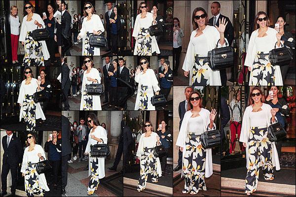 * 10/05/16 : Eva a été aperçu en train de quitter l'hotel  Four Seasons George V de  Paris pour aller a Cannes.   Eva a une jolie tenue j'aime beaucoup ce qu'elle porte en haut mais je suis moins fan du bas mais ça lui va bien -  c'est  un sympa TOP    ! *