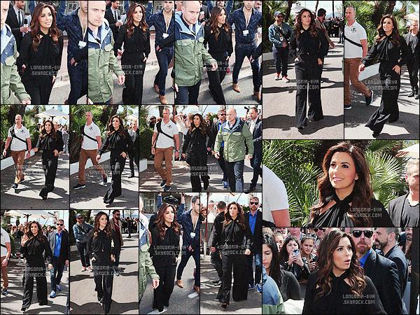 * 12/05/16 : Eva  a été aperçu a l'hotel Martinez pendant  la    69th Cannes Film Festival   qui est situé à  - Cannes.   Eva porte une tenue noir, une combinaison plus décontracté que ce qu'elle porte habituellement ce qui est sympa - c'est un jolie TOP    ! *