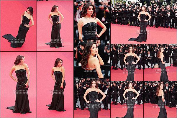 * 12/05/16 : Eva  à la première du film    Money Monster,  à l'occasion du festival se déroulant à  Cannes - France.   Eva a encore capté toute l'attention, avec son bustier noir, sa parure en diamants Messika et sa pochette Giuseppe Zanotti Design. TOP    ! *