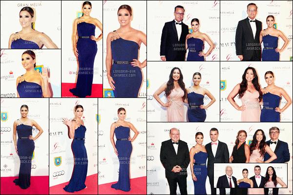 * 17/07/16 : Eva était présente lors des  Global Gift Gala Marbella  au Gran Melia Don Pepe Resort à - Marbella.   Eva a une robe bleue très jolie et qui est très bien porté par la jeune demoiselle qui est superbe dedans - c'est donc un magnifique TOP    ! *