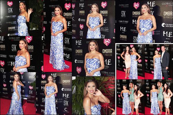 * 19/07/16 : Eva  était présente lors de l'évenement     Global Gift Foundation    qui a eu lieu a Ibiza  en -  Espagne.  Cette robe est très jolie et  Eva la porte divinement bien. Le bleu est une couleur qui lui va et ce bustier est très jolie - c'est un jolie TOP    ! *