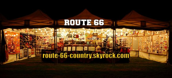 Quelques photos du stand ROUTE 66