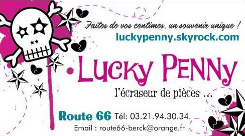 LUCKY PENNY : La nouvelle attraction de ROUTE 66 !