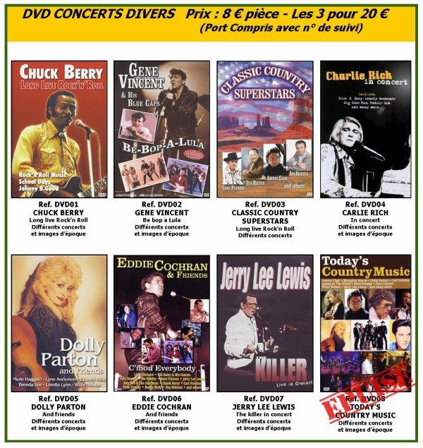 DVD (CONCERTS & FILMS)