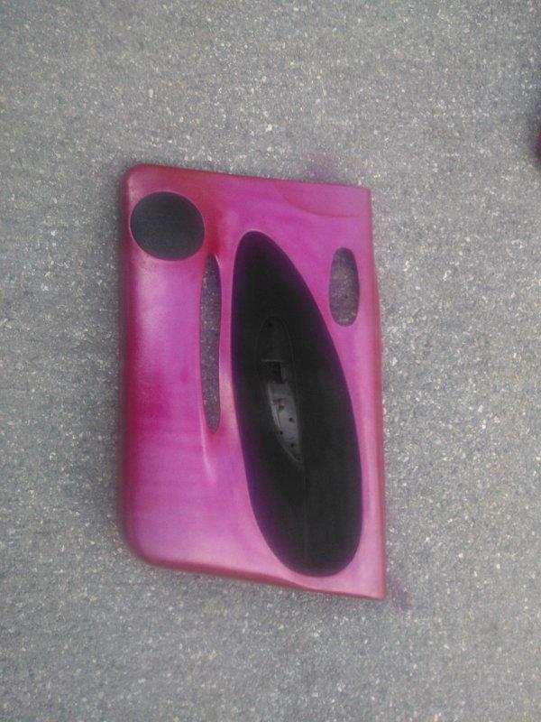 eclairage rose dans la voiture!!!!!