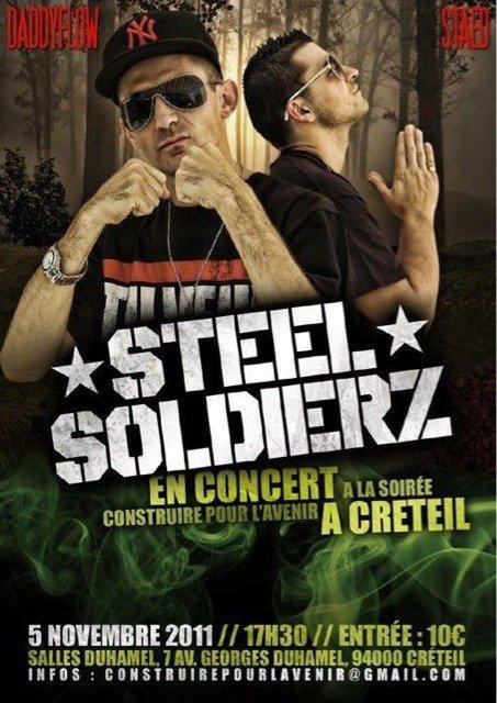 concert STEEL SOLDIERZ mon Crew a Créteil le 5 Novembre