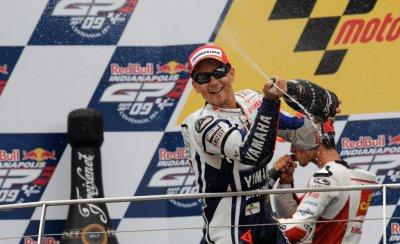 Moto GP: Lorenzo inscrit son nom au palmarès