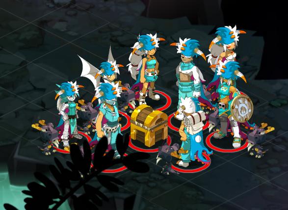 Refonte guilde, coloris des personnages, quêtes vulkania en approche...